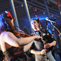 National Museum of Scotland, ceilidh performance band