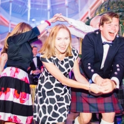 Scraggly Cats Entertain Visit Scotland Guests at National Museum of Scotland