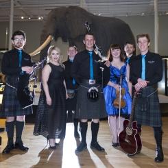 Tartanium bagpipe rock band museum edinburgh