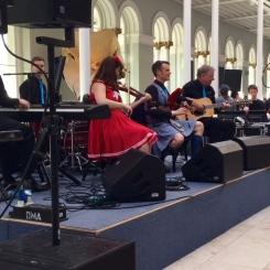 Folk Band at Edinburgh Museum