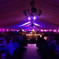 Tartanium rocking Murrayfield Stadium for corporate hospitality