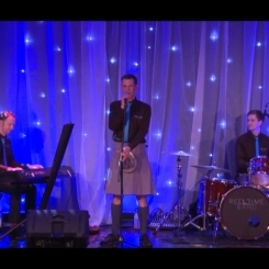 The Reel Time Ceilidh Band play the AECC for Burns Night