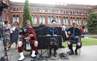 ceilidh band website