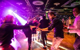Ceilidh dancing at EICC conference