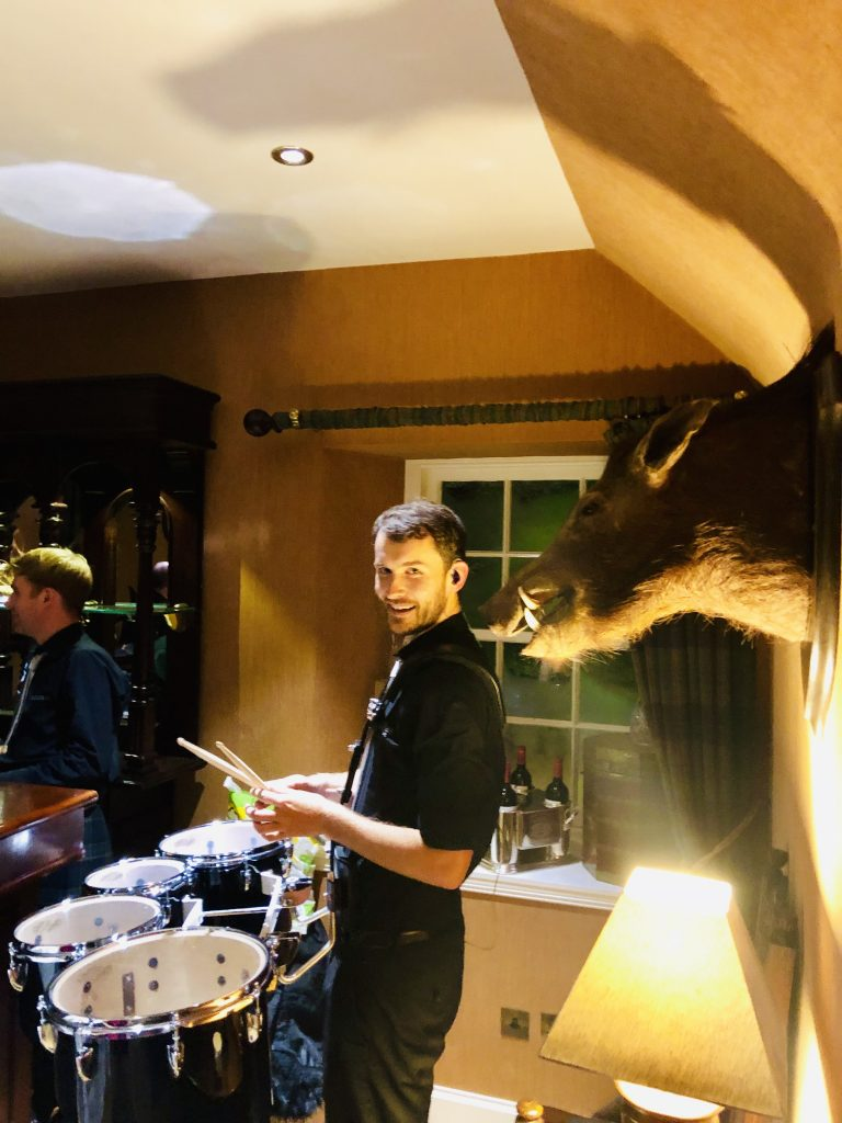 scottish band event drummer